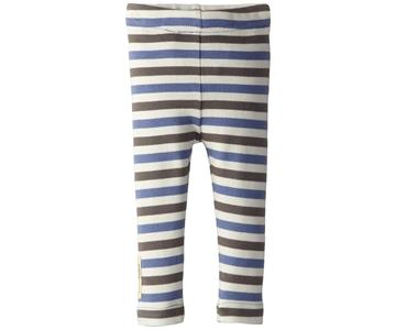 Loved Baby Organic Leggings Slate Stripe
