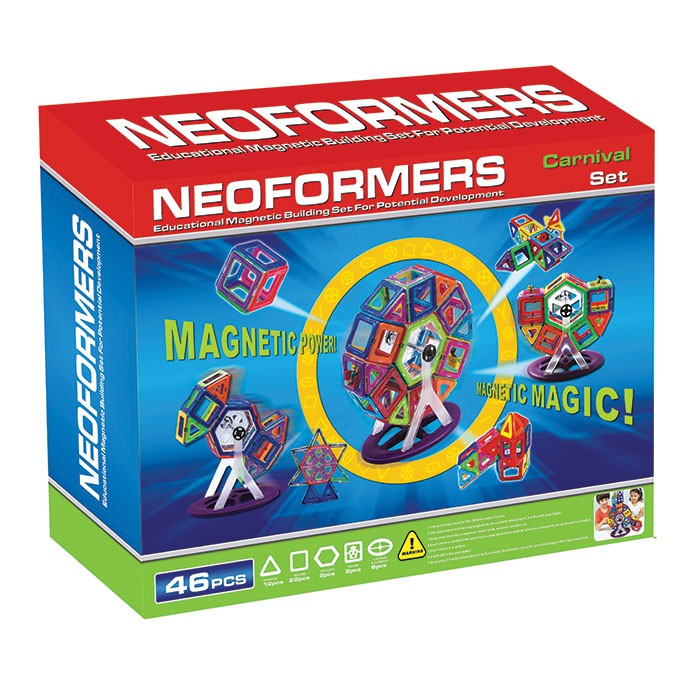 Neoformers: Magentic Carnival Set 46 Pieces