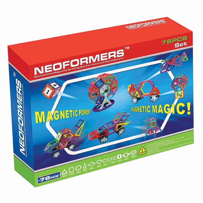 Neoformers: Magentic Set 78 Pieces
