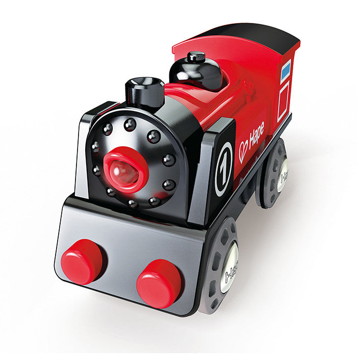 Hape Toys   Battery Powered Little Red Engine
