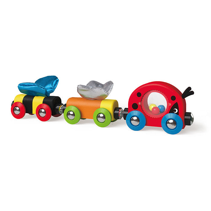 Hape Toys -  Ladybug, Butterfly and Bee Jingle Train