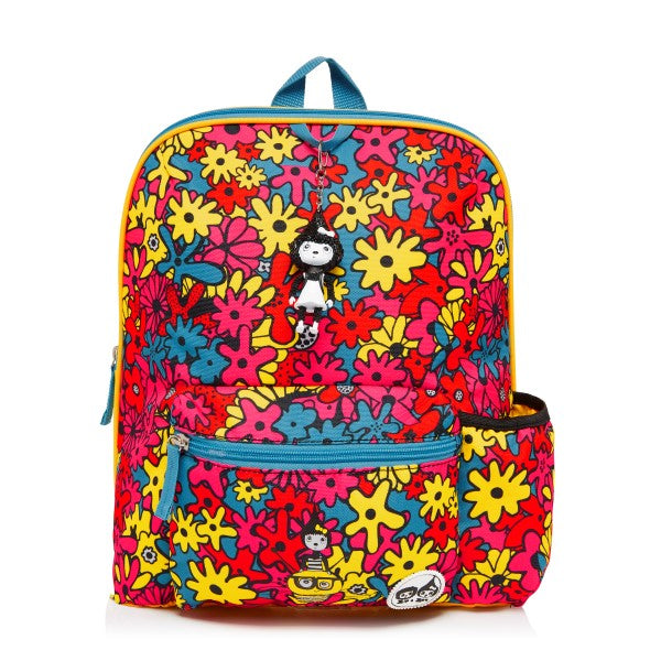 Zip and Zoe Kids Backpack Flower Print