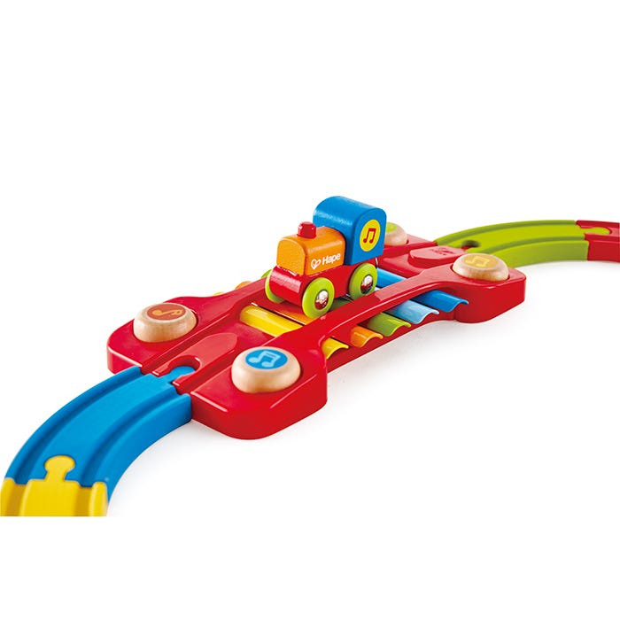 Hape Sensory Railway 14 Pieces