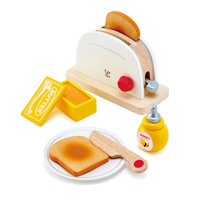 Hape Toys Pretend Play Pop Up Toaster Set