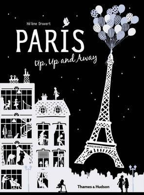 Children's Book Paris Up, Up and Away