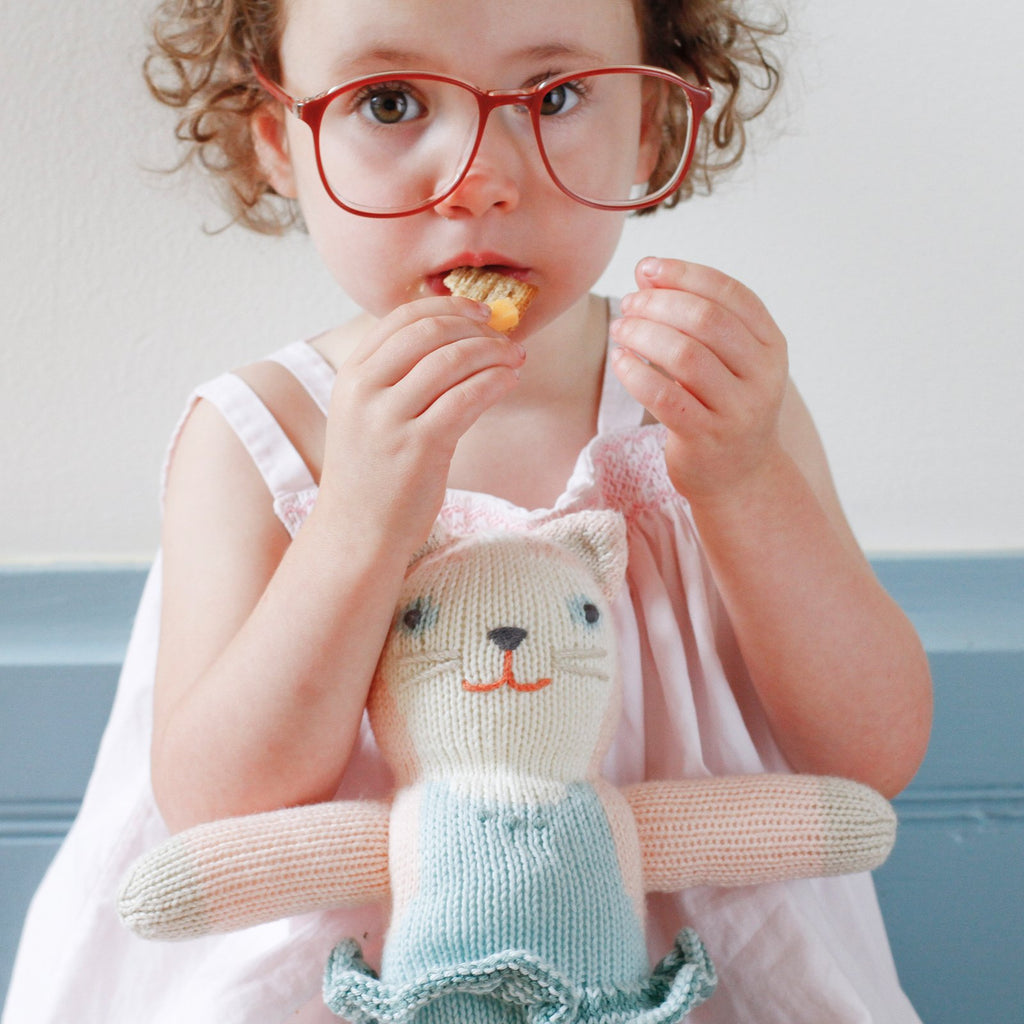 blabla Knitted Cotton Doll - Splash the Cat