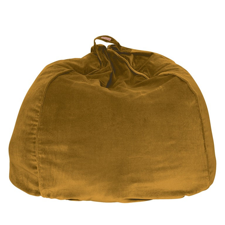 Kip & Co Velvet Beanbag - Harvest Gold