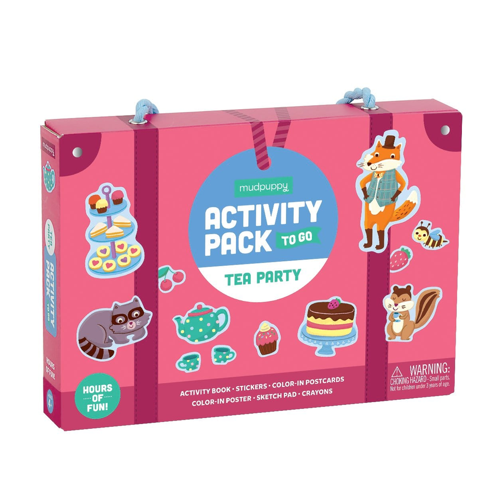 Mudpuppy Activity Pack  Tea Party