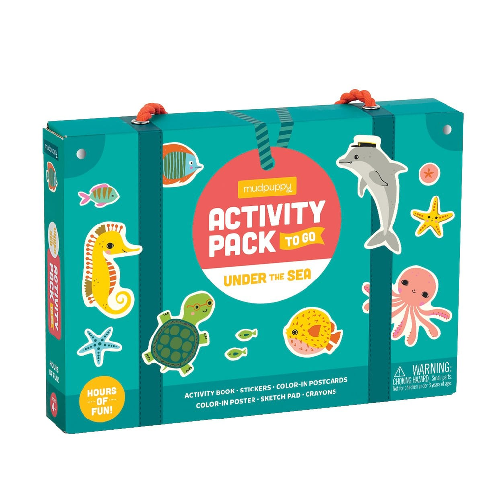 Mudpuppy Activity Pack  Under The Sea