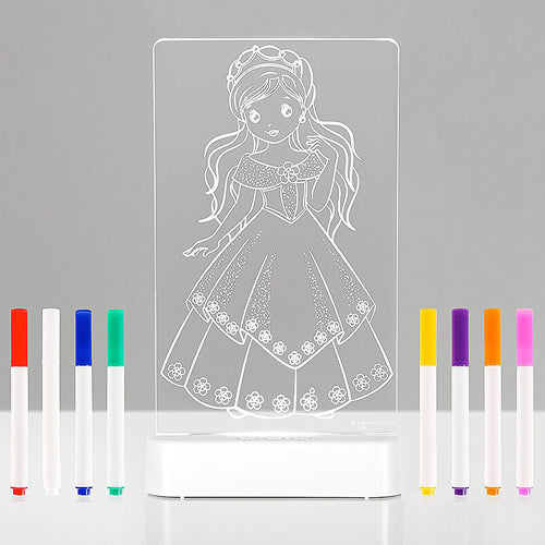 Aloka LED Sleepy Light Kids Night Light  Colour Me Princess
