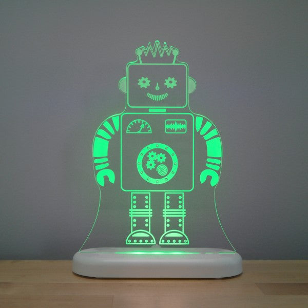 Aloka LED Sleepy Light Kids Night Light  Colour Me Robot