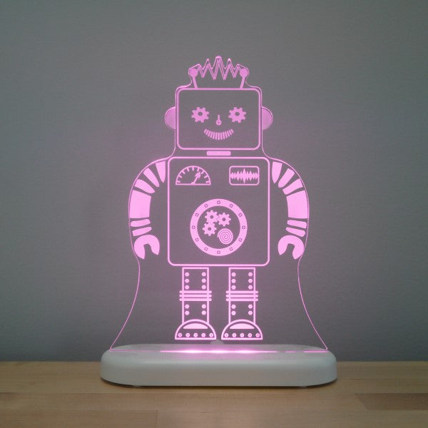 Aloka LED Sleepy Light Kids Night Light  Robot