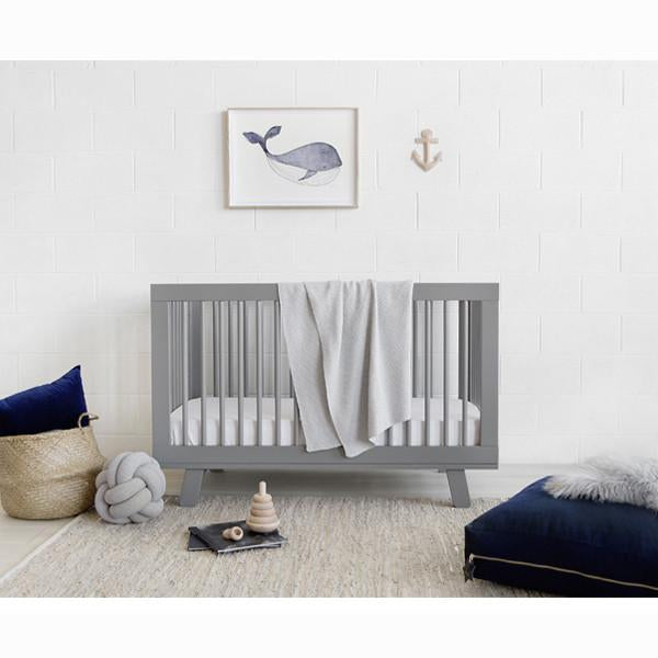 Babyletto Hudson 3 in 1 Cot Grey