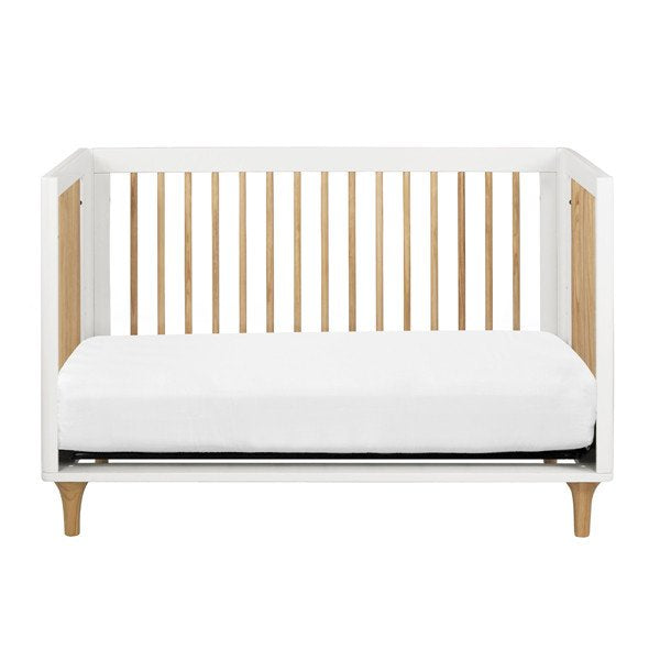 Babyletto Lolly 3 in 1 Cot White & Natural