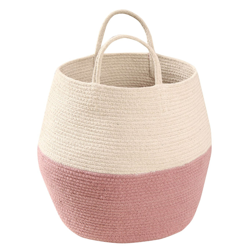 Lorena Canals Basket Zoco - Pink and Natural