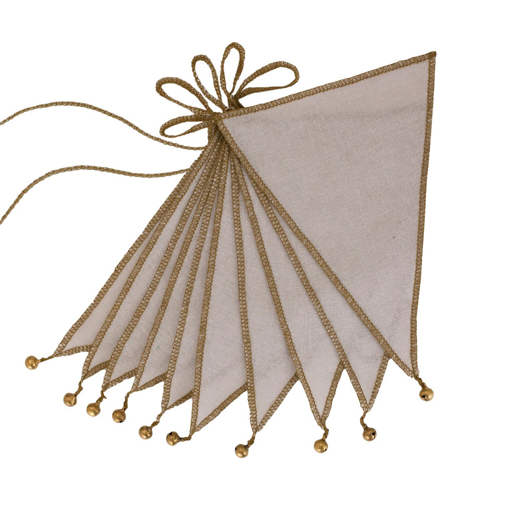 Numero 74 Bunting Garland - Powder