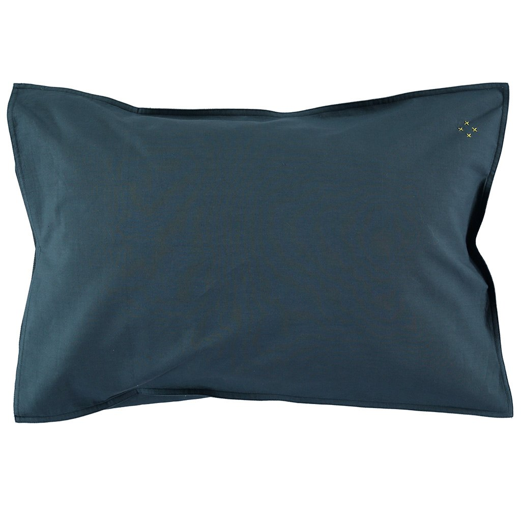 Camomile London Organic Cotton Pillowcase – Midnight