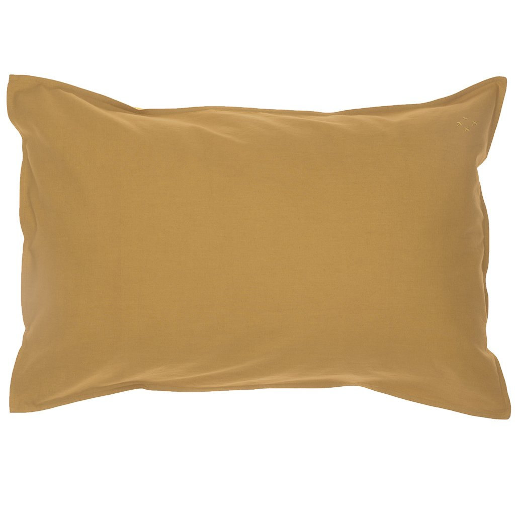 Camomile London Organic Cotton Pillowcase – Ochre
