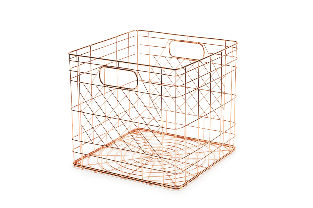 Bendo Metal Crate Copper