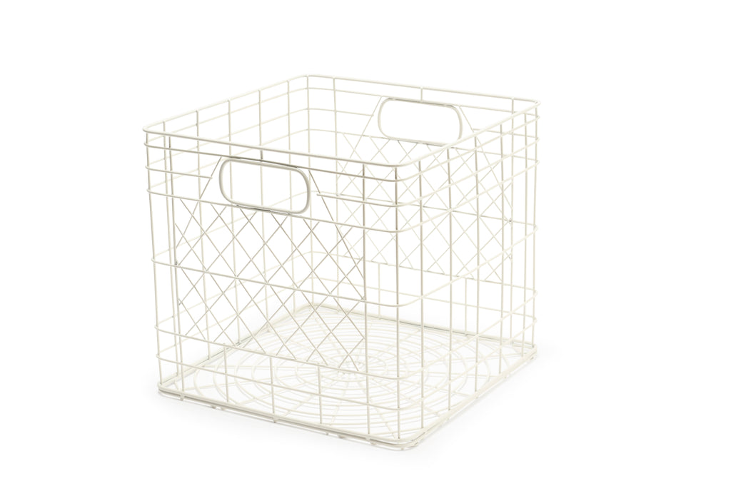 Bendo Metal Crate white