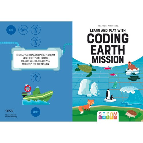 Sassi  - Learn and Play with Coding Earth Mission