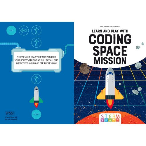 Sassi  - Learn and Play with Coding Space Mission