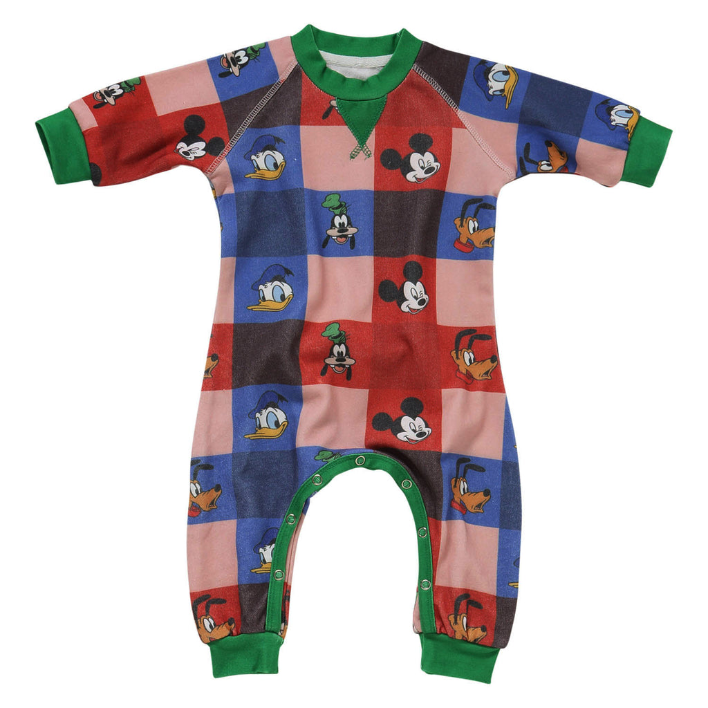 Kip & Co Disney Collaboration  Check Mate Mickey Baby Romper