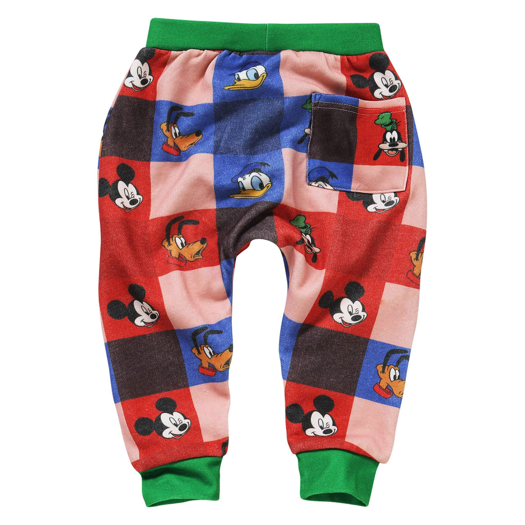 Kip & Co Disney Collaboration  Check Mate Mickey Baby Track Pant
