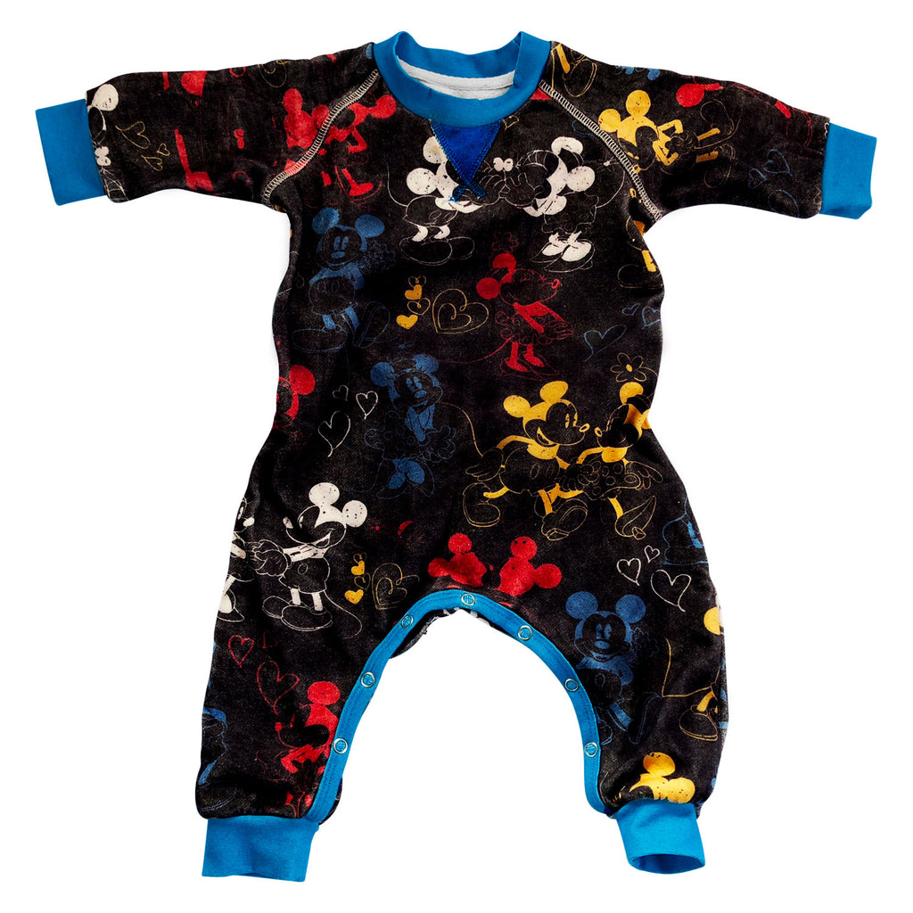 Kip & Co Disney Collaboration  Love Boy Black Romper
