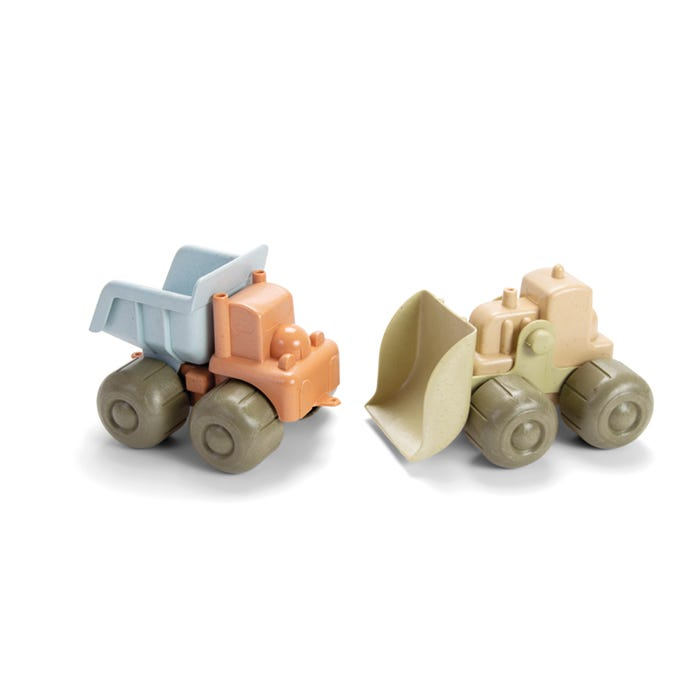 Dantoy BIO Plastic Construction Vehicle Set 2 Pieces