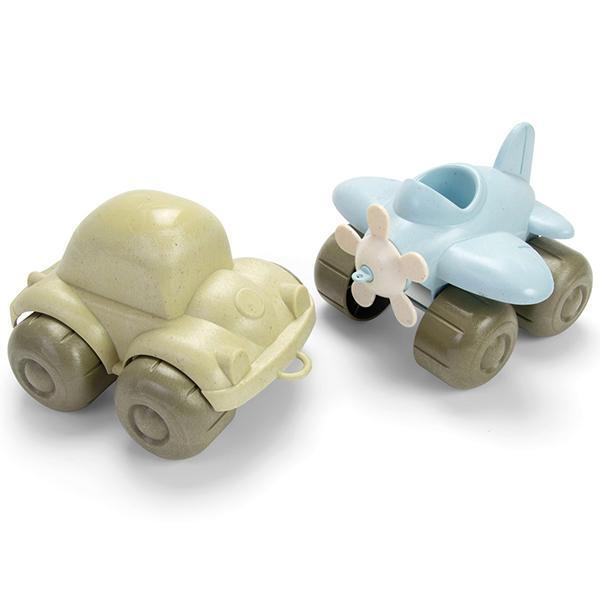 Dantoy BIO Plastic Vehicle Set 2 Pieces
