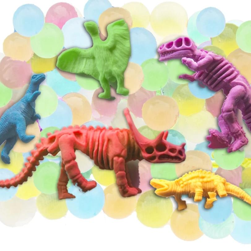 Huckleberry Creative Toys - Water Marbles and Dinosaurs