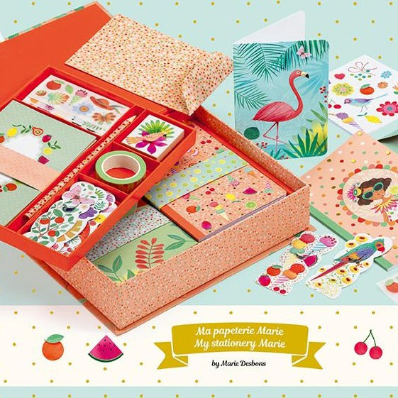 Djeco Kids Stationery Box Set - Marie