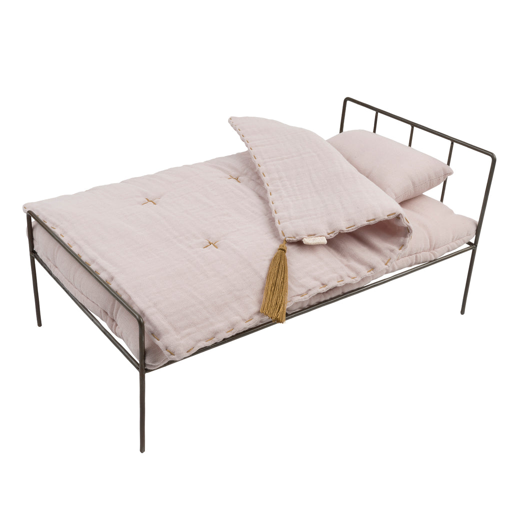 Numero 74 Doll Metal Bed Set - Powder