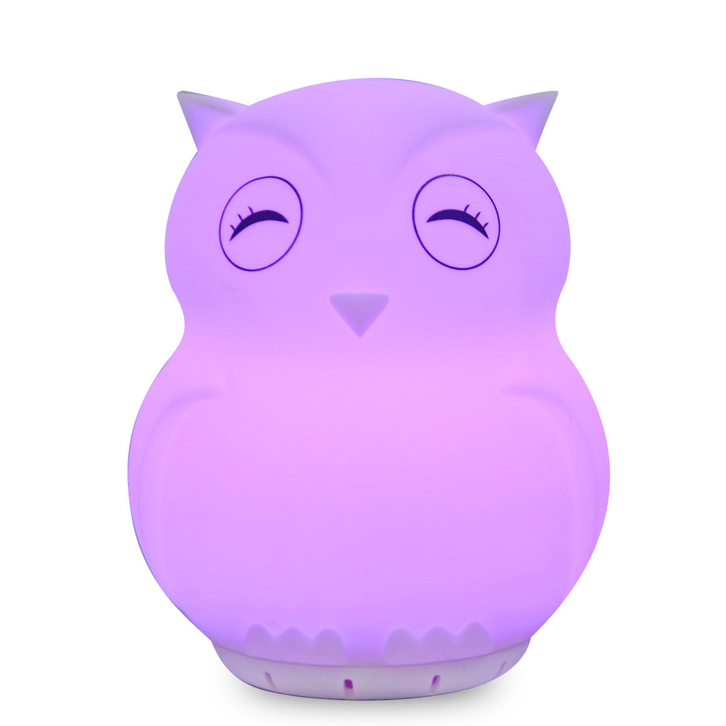 Duski Rechargeable Night Light and Speaker - Owl