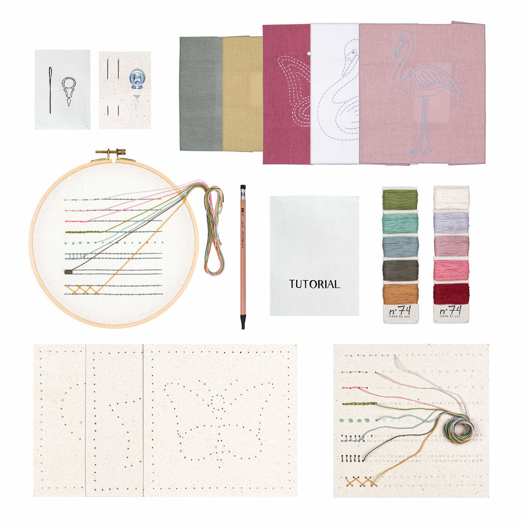 Numero 74 Creative Embroidery Kit - Sea