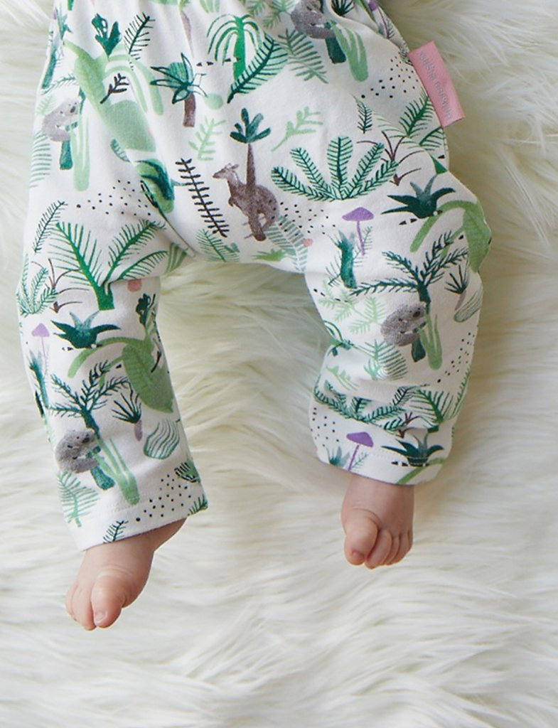 Halcyon Nights Baby Clothes  Fern Gully Baby Leggings