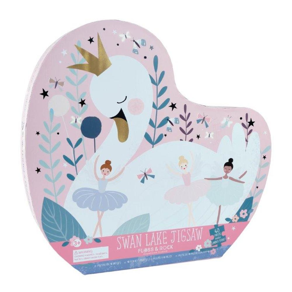 Floss & Rock - 40 Piece Swan Lake Jigsaw Puzzle