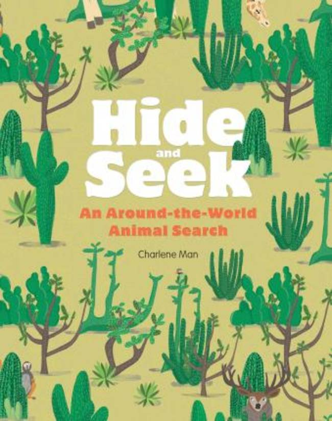 Childrens Book - Hide and Seek An All Around The World Animal Search