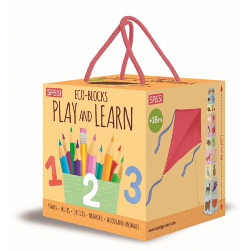 Sassi Eco Blocks - Play and Learn