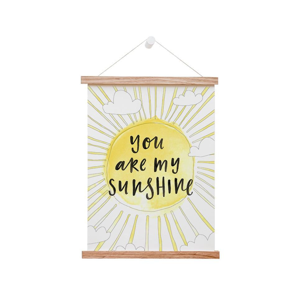 In The Daylight - You Are My Sunshine Kids Wall Art