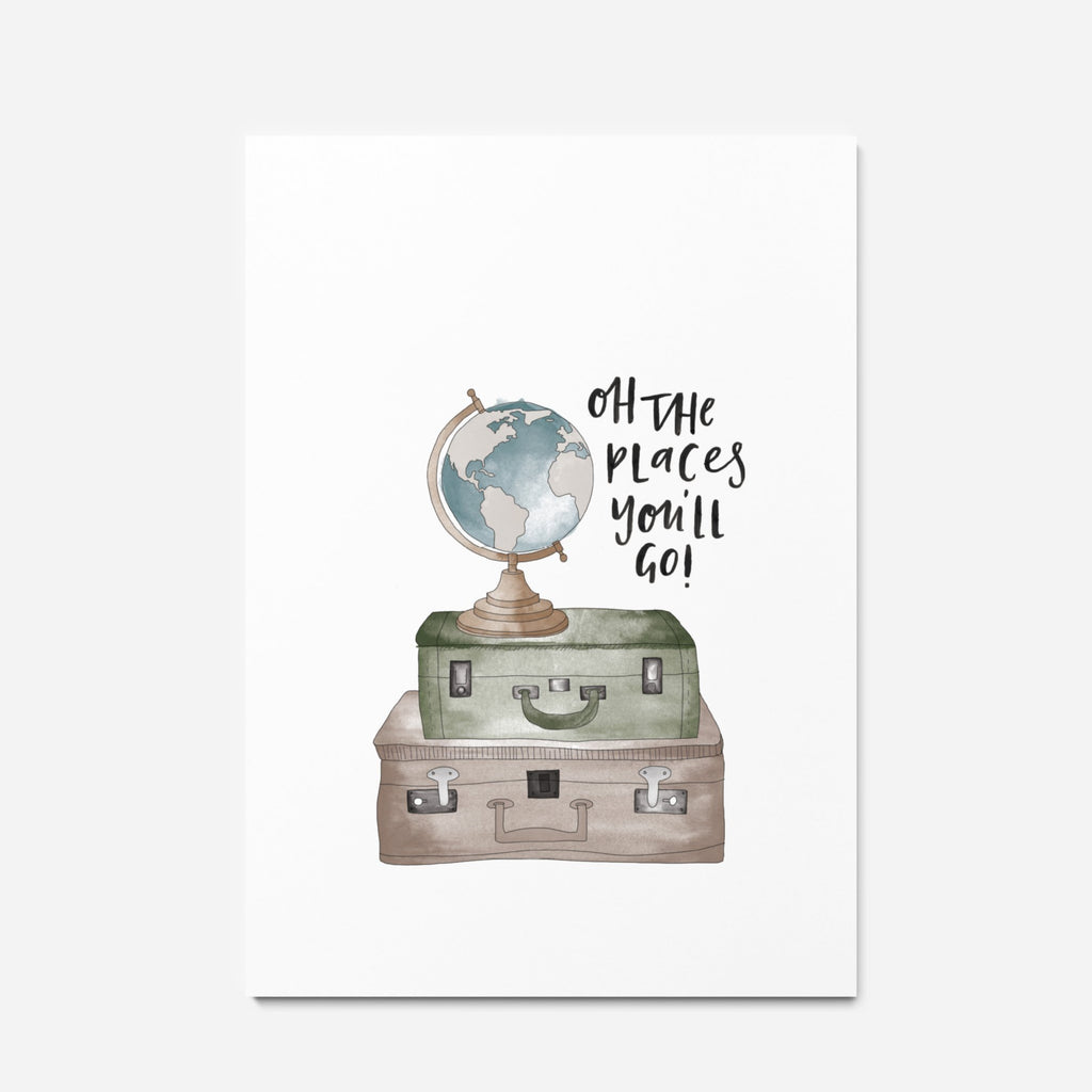 In The Daylight - Oh The Places You'll Go Kids Wall Art