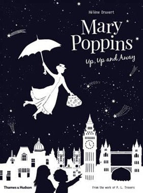 Children's Book Mary Poppins Up, Up and Away