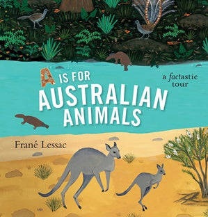 Children's Book A is for Australian Animals
