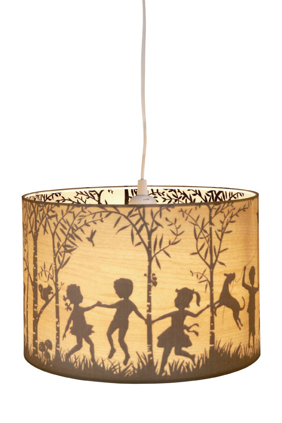 Micky & Stevie Kids Lamp Shades  In The Woods Timber