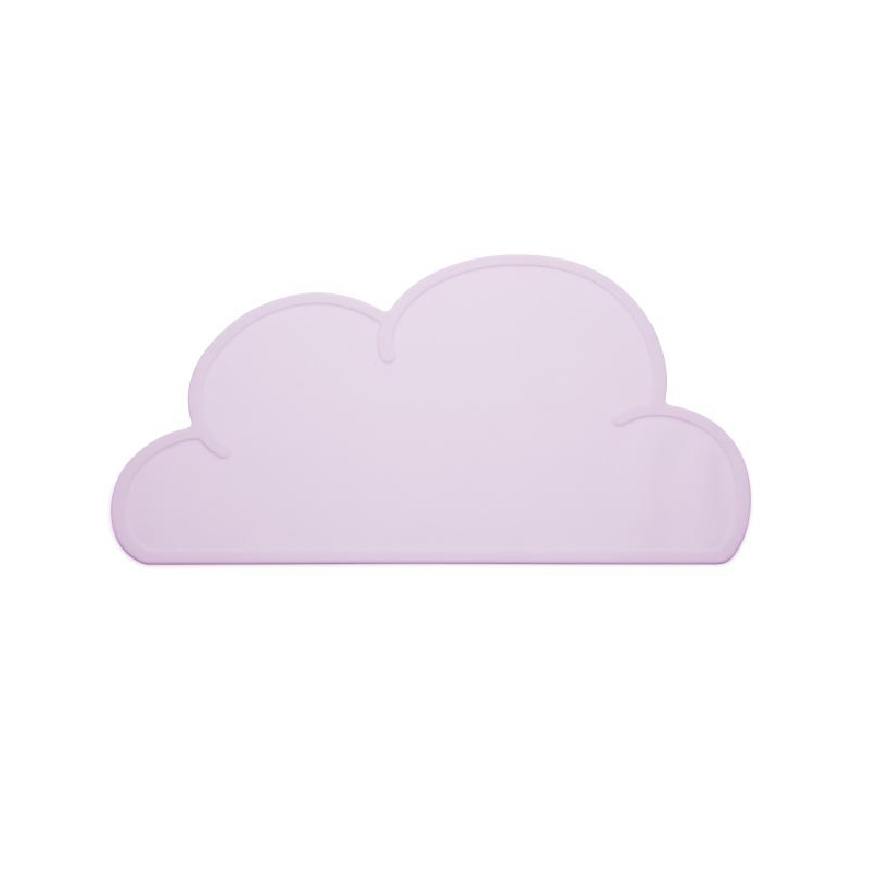 KG Design Silicon Cloud Placemat For Kids – Blush Pink