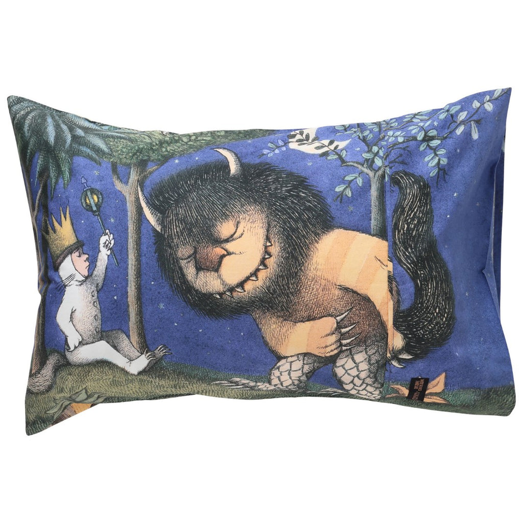 Kip and Co Where The Wild Things Are - Sir Monster-A-Lot Pillowcase