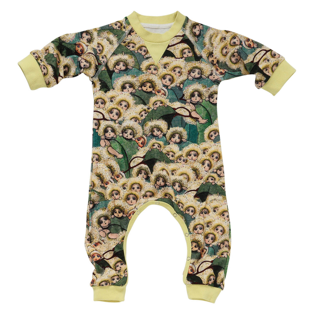KIP & CO X MAY GIBBS PEEK A BOO BABY Romper
