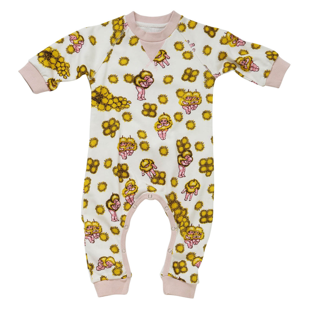 KIP & CO X MAY GIBBS Wattle Babies Baby Romper