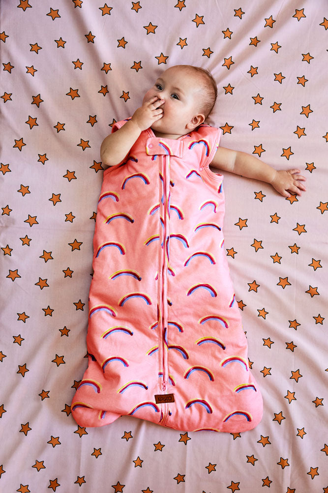 Kip & Co Baby Sleeping Bag 2.5 TOG - Over The Rainbow